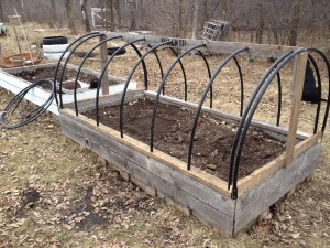 A Hoop Framed Garden