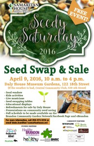 Brandon's 3rd Seedy Saturday!